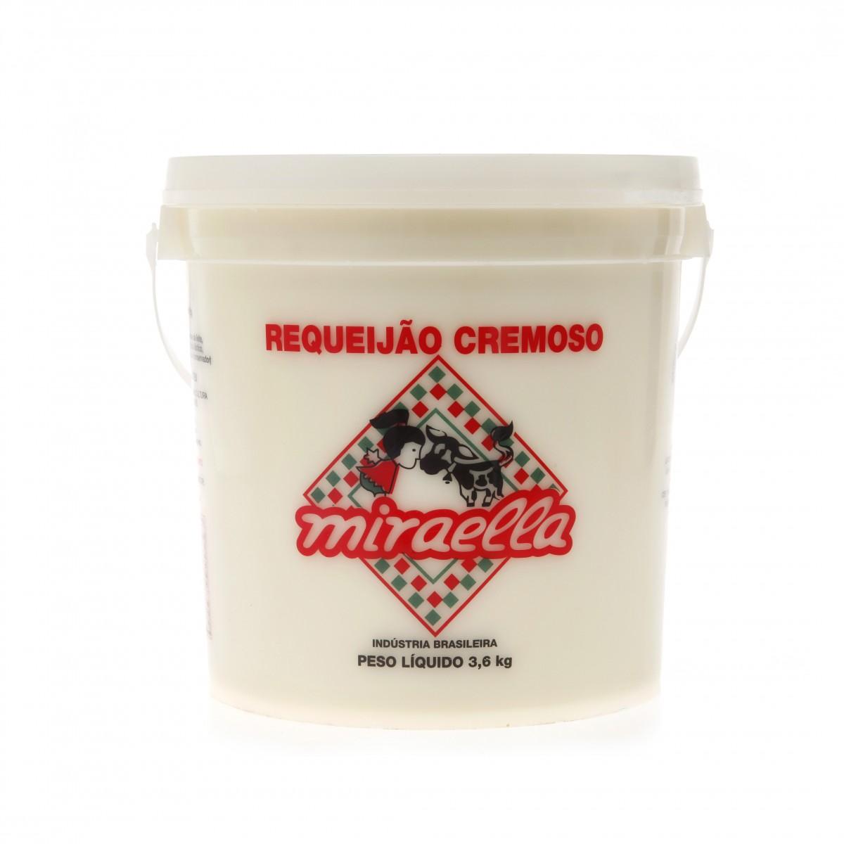 Requeijão Cremoso Miraella