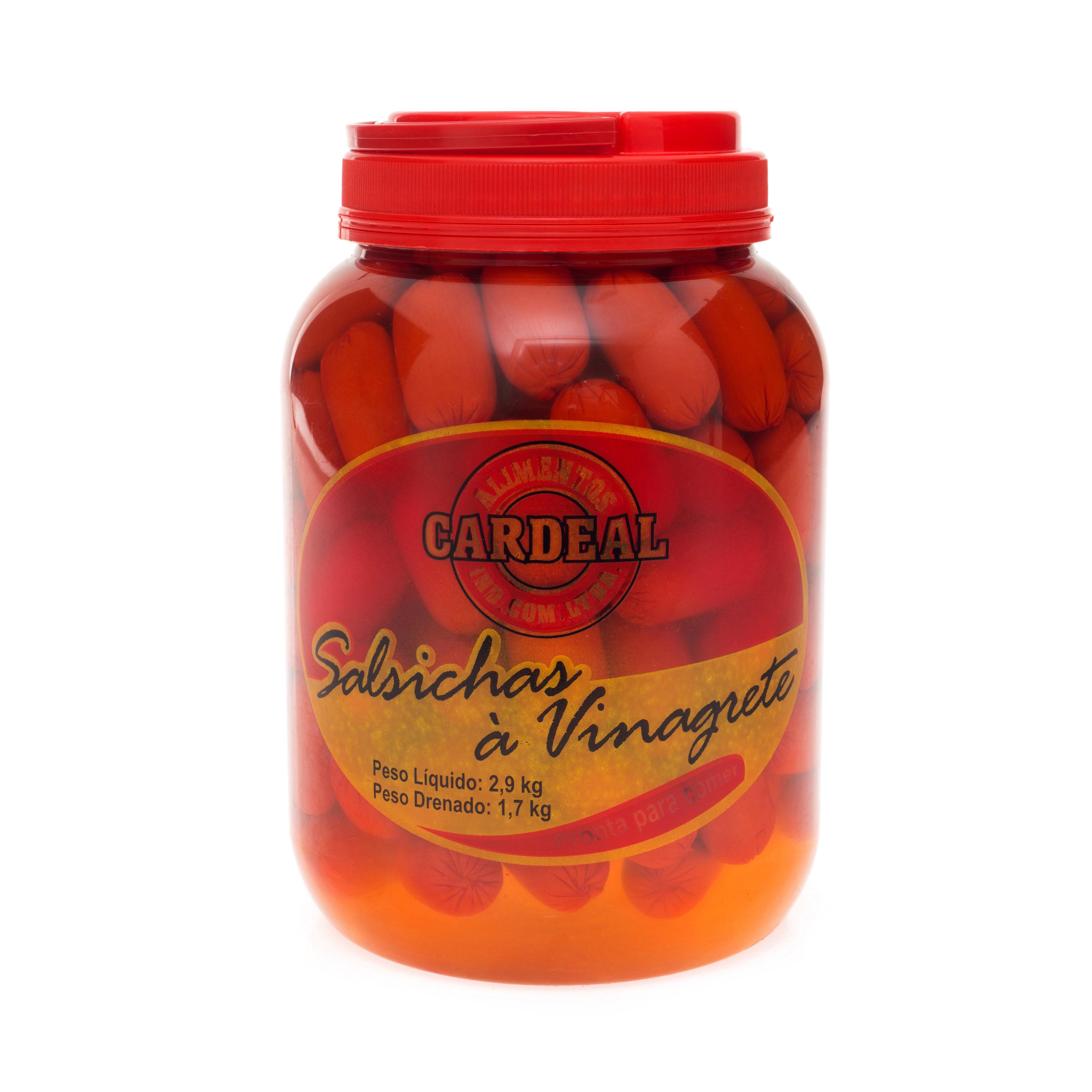 Salsichas à Vinagrete Cardeal