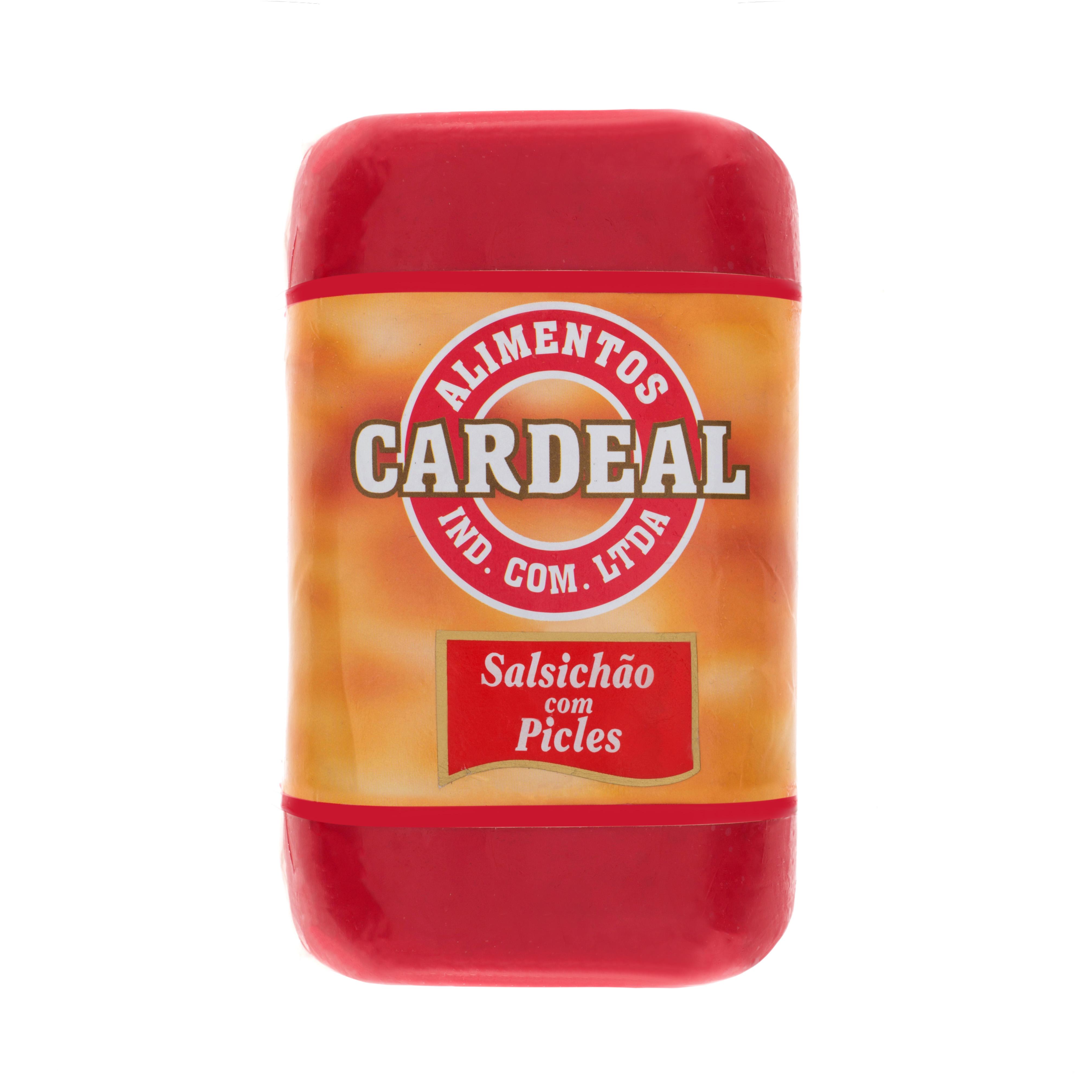 Salsichão com Picles Cardeal