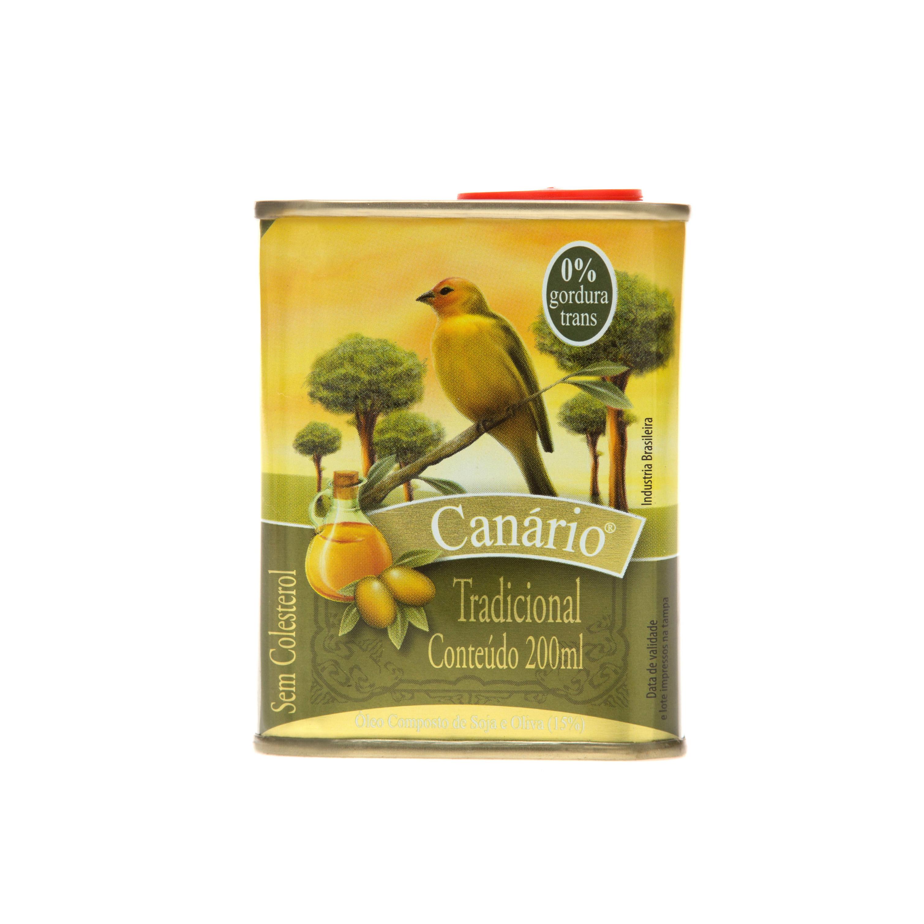 Azeite Composto de Soja e Oliva Canário